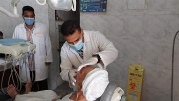 «حياة كريمة».. الكشف على 189 مواطنا خلال قافلة طبية مجانية بقرى سفاجا |صور
