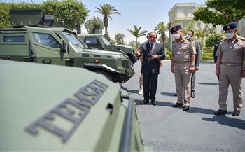 """الرئيس السيسي يناقش تطورات مشاركة بعض عناصر القوات المسلحة في مبادرة """"حياة كريمة"""""""