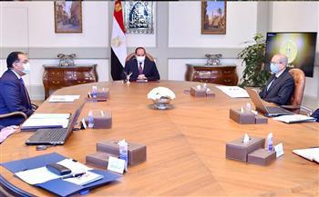 الرئيس السيسي يتابع الموقف التنفيذي لمشروعات قطاع البترول