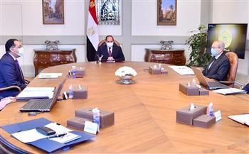 الرئيس السيسي يطلع على إستراتيجية الدولة لتلبية احتياجات السوق المحلية من المنتجات البترولية
