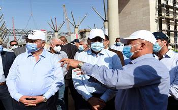 """وزير النقل: الانتهاء من كباري """"الإسماعيلية وجنيفة والروبيكي1و2""""بنسبة 99% ضمن مشروع القطار الكهربائي"""