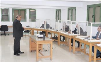 رئيس جامعة الأزهر يتفقد دورة التخطيط الإستراتيجي والتواصل الفعال لأعضاء هيئة التدريس |صور