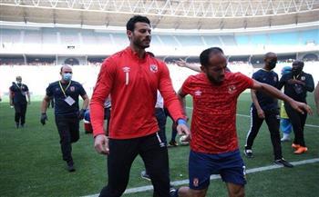 وزير الرياضة يطمئن على بعثة الأهلي بعد الأحداث التي شهدها استاد رادس