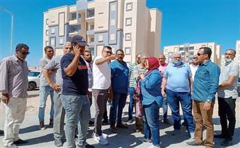 وكيل «الإسكان» يعاين 84 عمارة بمشروع كل المصريين بالغردقة| صور