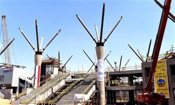 وزير النقل: الرئيس السيسي وجه بمد مسار القطار الكهربائي LRT إلى قلب مدينة العاشر من رمضان
