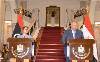 سامح شكرى: مؤتمر برلين نقطة مهمة فى استقرار ليبيا
