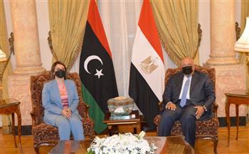 شكرى: مصر على أتم استعداد لمعاونة الأشقاء لتحقيق بنود مبادرة استقرار ليبيا