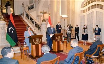 شكرى: الجامعة العربية وأعضاؤها تضامنوا مع مصر والسودان فى ملف سد النهضة لعدالة القضية