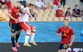 انطلاق لقاء إسبانيا وبولندا في «يورو 2020»