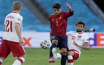 «موراتا» يسجل الهدف الأول لإسبانيا فى شباك بولندا بـ «يورو 2020»