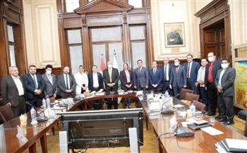 وزير الزراعة يستعرض خلال لقائه وفد التنسيقية برنامج الإصلاحات الهيكيلية في القطاع الزراعي