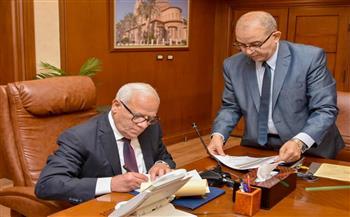 محافظ بورسعيد يعتمد نتيجة الشهادة الإعدادية بنسبة نجاح ٨٢.٤١ %