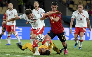 منتخب بولندا يتعادل مع إسبانيا.. والحسم يتأجل للجولة الأخيرة بالمجموعة الخامسة في «يورو 2020»