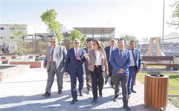 لجنة الإدارة المحلية بالنواب تتفقد مكتبة مصر العامة بمدينة عزبة البرج
