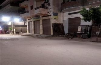 التزام المحال بكفرالشيخ بمواعيد الغلق.. وتحرير 13 محضر مخالفة | صور