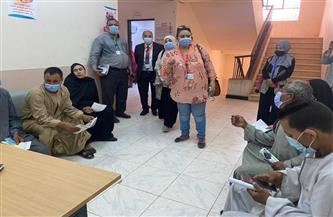 """15 طبيبًا في 10 تخصصات طبية يُشاركون في قافلة جامعة المنيا بـ """"نزلة عبيد"""""""
