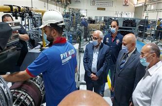 محافظ بورسعيد يتفقد أحدث مصانع إنتاج إطارات السيارات بالمنطقة الصناعية |صور