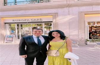 """رانيا يوسف: هنزل صوري مع """"ميسي"""".. وعمرو أديب مازحًا: """"علشان كده برشلونة خسر الدوري"""""""