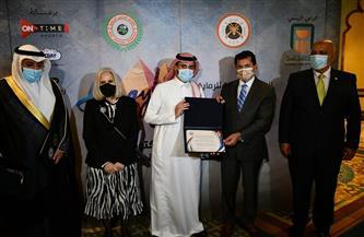 وزير الرياضة يشهد حفل افتتاح البطولة العربية للرماية