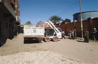 رفع 35 طن مخلفات وأتربة من شوارع الجمرك الإسكندرية