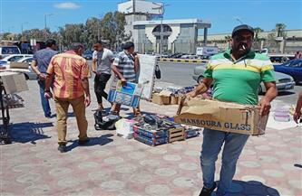 نائبة محافظ القاهرة توجه ببحث نقل الباعة الجائلين من ميدان محطة حلوان