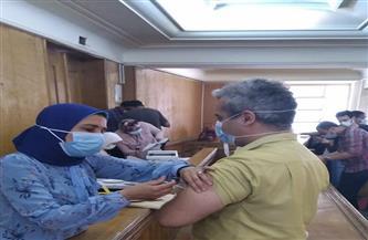 جامعة الإسكندرية تبدأ حملة تلقي لقاح كورونا لمنتسبيها | صور
