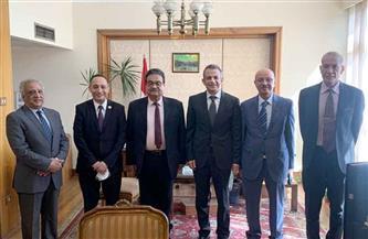 """وفد """"المصري الديمقراطي الاجتماعي"""" يلتقي مسئولين بالخارجية لبحث سبل التعاون في عدد من القضايا"""