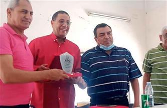 تكريم نادي الشبان في بني سويف