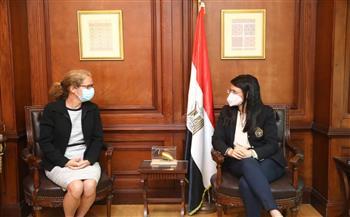 وزيرة التعاون الدولي تبحث مع المديرة الإقليمية للبنك الدولي مجالات الشراكة المستقبلية