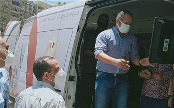 محافظ أسيوط: سيارة المركز التكنولوجي المتنقل تجوب القرى لتقديم الخدمات الحكومية|صور