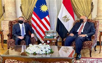 وزير خارجية ماليزيا يشكر مصر على جهودها فى وقف إطلاق النار بـ«فلسطين»