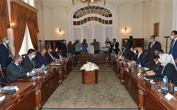 بدء جلسة المباحثات المصرية الماليزية برئاسة وزيري الخارجية |صور