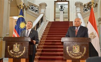 الاتفاق على عقد اجتماع قريب للجنة المشتركة بين مصر وماليزيا