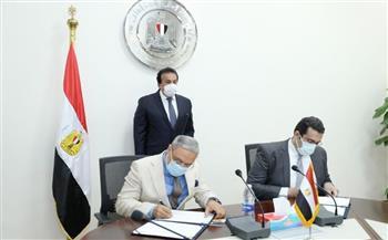 توقيع بروتوكول تعاون بين جامعتي طنطا والمصرية الإلكترونية الأهلية |صور