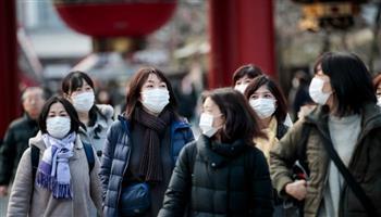 اليابان تسجل أكثر من 1300 إصابة و20 وفاة جديدة بفيرس كورونا