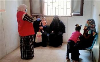 صحة كفر الشيخ: فحص 7522 سيدة خلال أسبوع في مبادرة دعم صحة المرأة