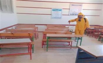 صحة كفرالشيخ تعقم لجان الامتحانات وأقسام الغسيل الكلوي بالمستشفيات|صور