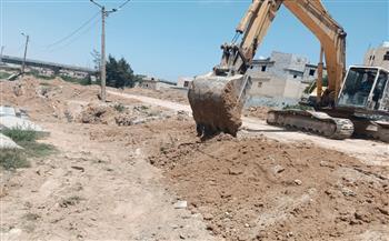 مدينة الحمام: ردم أعمال حفر نفذت داخل المقابر عن طريق الخطأ  صور