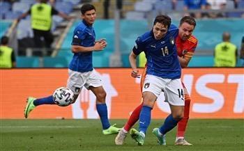 «بيسينا» يحرز الهدف الأول لمنتخب إيطاليا فى شباك ويلز