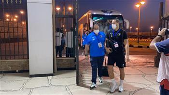 بيراميدز يصل ملعب مواجهة الرجاء المغربي