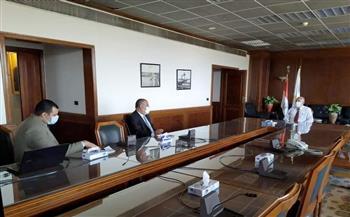 وزير الري يناقش طلبات محافظة الغربية للاستفادة من بعض المنافع
