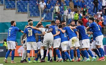 """إيطاليا تحقق العلامة الكاملة بالفوز على ويلز بهدف نظيف بـ """"يورو 2020"""""""