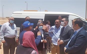 محافظ كفر الشيخ يناقش تنفيذ بروتوكول استخدام مساحات أراض في الوادي الجديد