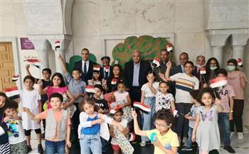 مندوب مصر بالأمم المتحدة بجنيف يشارك فى حفل توزيع جوائز المسابقات الرمضانية