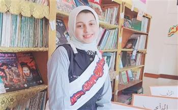 """الأولى بـ«إعدادية» مطروح.. جاسمين عبد الحي تكشف لـ""""بوابة الأهرام"""" عن أسباب تفوقها  صور"""