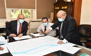وزير الإسكان يتابع موقف تنفيذ مشروعات إحلال وتجديد شبكات مياه الشرب بمحافظة القاهرة|صور