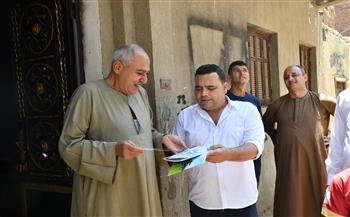 """حملات توعية للمواطنين بقرى الصف ضمن مبادرة """"حياة كريمة""""  صور"""