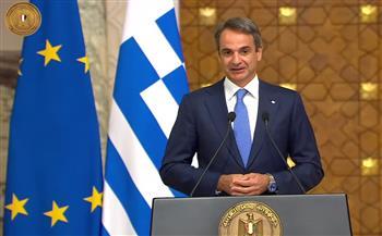 رئيس وزراء اليونان: ترسيم الحدود البحرية مع مصر نموذج يحتذى به