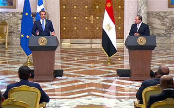 توافق مصري-يوناني بشأن القضايا ذات الاهتمام المشترك.. أبرز ما جاء فى مؤتمر الرئيس السيسى ورئيس وزراء اليونان