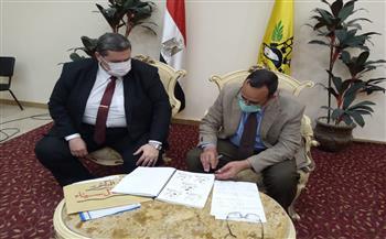 محافظ-شمال-سيناء-يعتمد-نتيجة-الشهادة-الإعدادية- صور